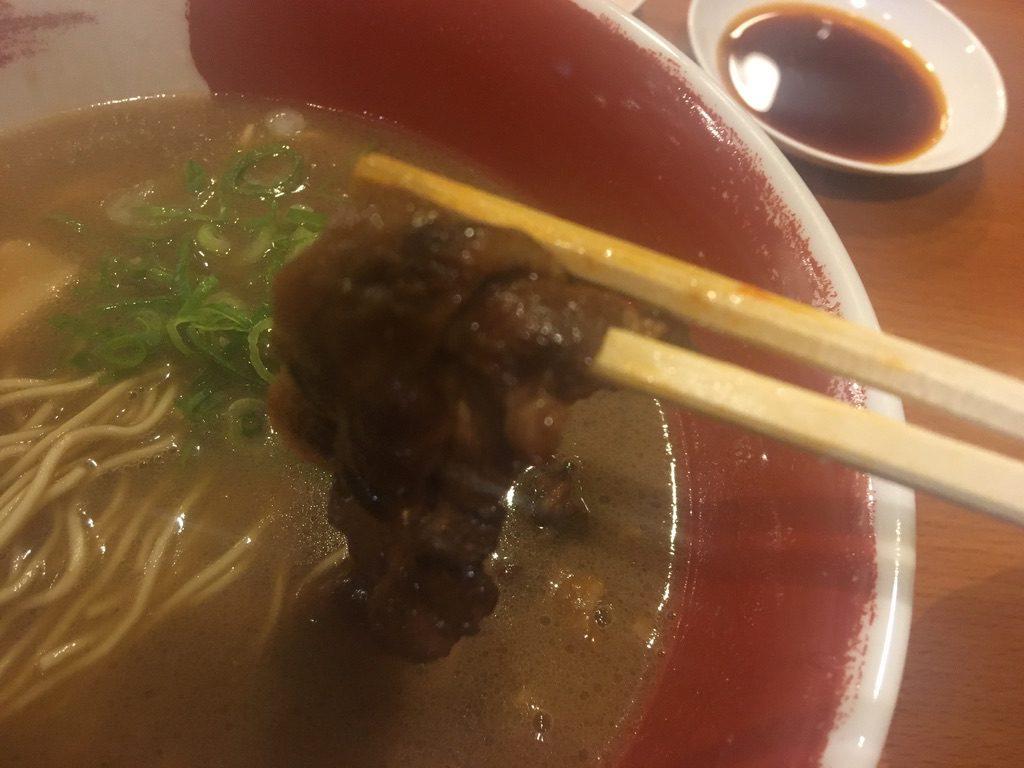 麺王徳島らーめん肉