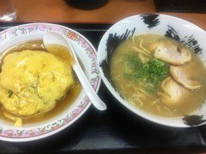 餃子の王将_徳島駅前店_ラーメンセット