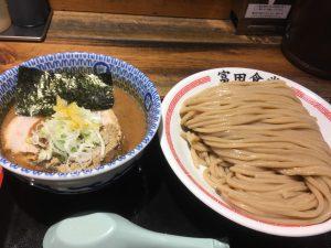 富田食堂_濃厚つけ麺(大)