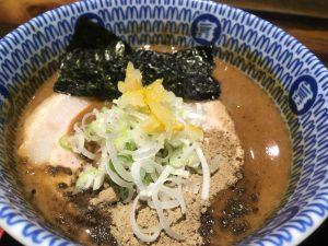 富田食堂_濃厚つけ麺_スープ
