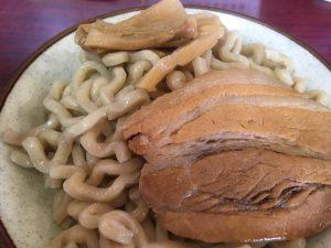 角ふじ_づけ麺ゆず_大盛