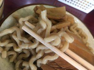 角ふじ_づけ麺_麺
